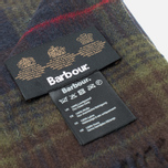Шарф Barbour Brignall Lambswool Olive/Brown фото- 3