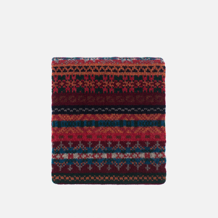 Barbour Melrose Scarf Red Multi