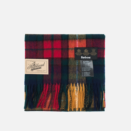 Шарф Barbour New Check Scarf Tartan Multicolor