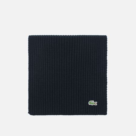 Шарф Lacoste Green Croc Wool Black