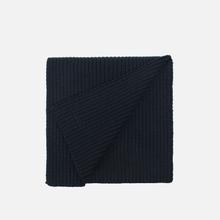 Шарф Lacoste Green Croc Wool Black фото- 1