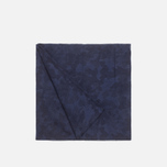 Шарф The Hill-Side Brushed Jacquard Camouflage Navy фото- 1