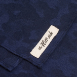 Шарф The Hill-Side Brushed Jacquard Camouflage Navy фото- 2
