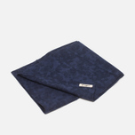 The Hill-Side Brushed Jacquard Men's scarf Camouflage Navy photo- 3
