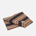 Шарф The Hill-Side Wool Blend Stripe Tan/Navy фото- 3