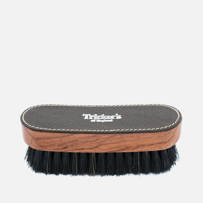 Щетка для обуви Tricker's Shoe Small Brush Brown/Black