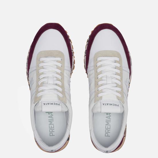 Мужские кроссовки Premiata Sean 5108 White/Red