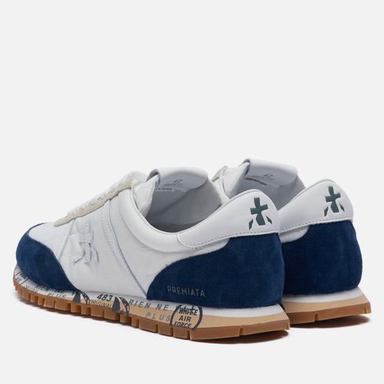 Мужские кроссовки Premiata Sean 5111 White/Navy