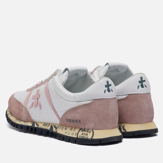 Женские кроссовки Premiata Sean-d 5128 White/Pink