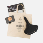 Brooks England B33 Saddle Black/Chrome photo- 9