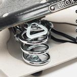 Седло для велосипеда Brooks England B66 S Black/Chrome фото- 2