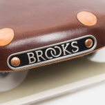 Седло для велосипеда Brooks England Swift Chrome Brown фото- 2