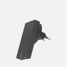 Сетевое зарядное устройство Native Union Smart Charger 2 Port USB-A 3.1A Grey фото- 0
