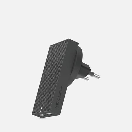 Сетевое зарядное устройство Native Union Smart Charger 2 Port USB-A 3.1A Grey
