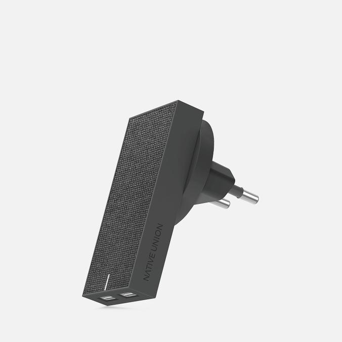 Фото - Сетевое зарядное устройство Native Union Smart Charger 2 Port USB-A 3.1A адаптер сетевой native union smart charger pd 45вт серый