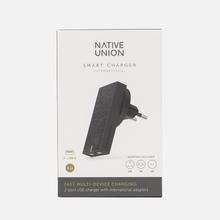 Сетевое зарядное устройство Native Union Smart Charger 2 Port USB-A 3.1A Grey фото- 6