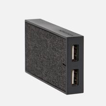 Сетевое зарядное устройство Native Union Smart Charger 2 Port USB-A 3.1A Grey фото- 5