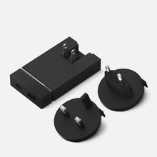 Сетевое зарядное устройство Native Union Smart Charger 2 Port USB-A/USB-C Grey фото- 3