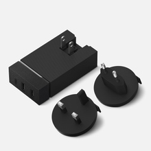 Сетевое зарядное устройство Native Union Smart Charger 3 Port USB-A/USB-C Grey фото- 0