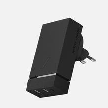 Сетевое зарядное устройство Native Union Smart Charger 3 Port USB-A/USB-C Grey фото- 2