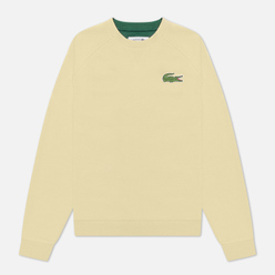 Женская толстовка Lacoste Crew Neck Cotton Fleece Yellow