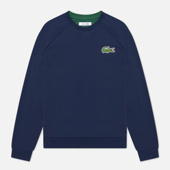 Женская толстовка Lacoste Crew Neck Cotton Fleece Navy Blue