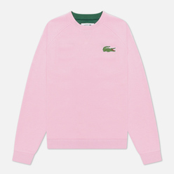 Женская толстовка Lacoste Crew Neck Cotton Fleece Pink