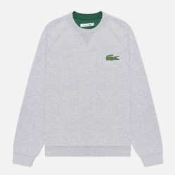 Женская толстовка Lacoste Crew Neck Cotton Fleece Grey Chine