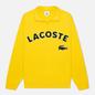 Мужская толстовка Lacoste Live Loose Fit Fleece Yellow фото - 0
