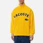Мужская толстовка Lacoste Live Loose Fit Fleece Yellow фото - 2