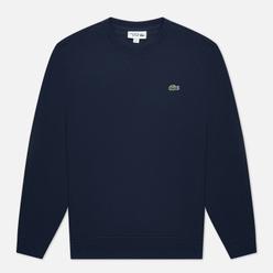 Мужская толстовка Lacoste Sport Cotton Blend Fleece Navy Blue