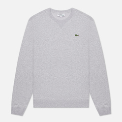 Мужская толстовка Lacoste Sport Cotton Blend Fleece Grey Chine/Light Grey