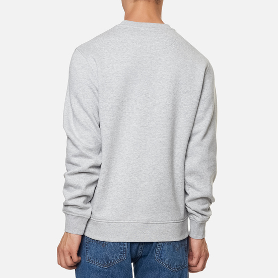 Мужская толстовка Lacoste Sport Cotton Blend Fleece Grey Chine/Light Grey