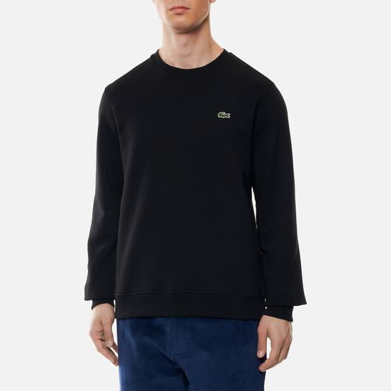 Мужская толстовка Lacoste Sport Cotton Blend Fleece Black