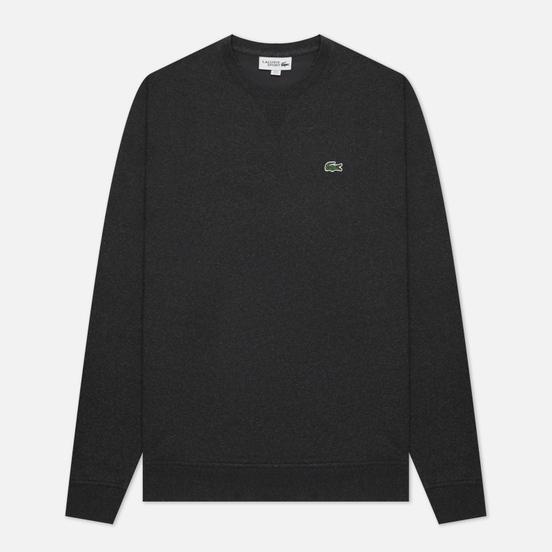 Мужская толстовка Lacoste Sport Cotton Blend Fleece Grey
