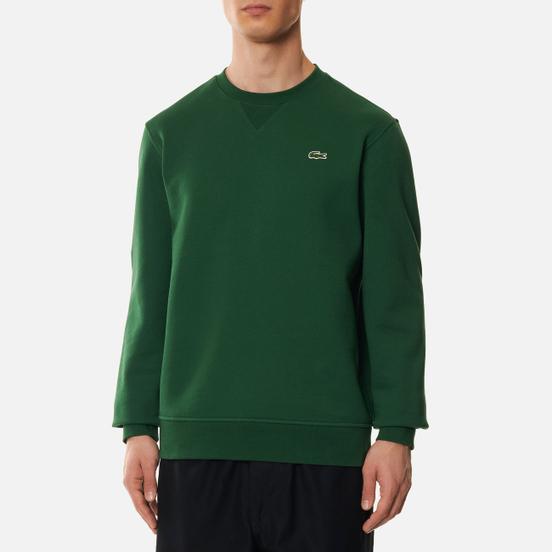 Мужская толстовка Lacoste Sport Cotton Blend Fleece Green/Green