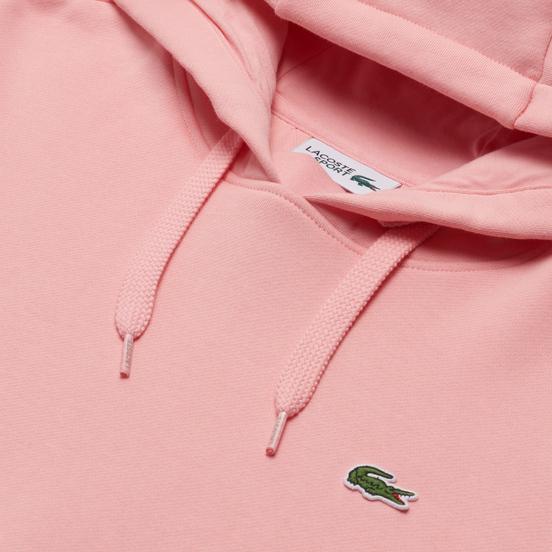 Мужская толстовка Lacoste Sport Fleece Hoodie Bagatelle Pink/Bagatelle Pink