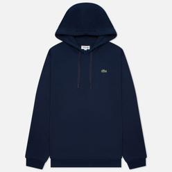 Мужская толстовка Lacoste Sport Fleece Hoodie Navy Blue