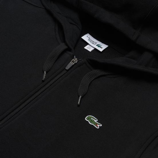 Мужская толстовка Lacoste Sport Lightweight Bi-Material Hoodie Black