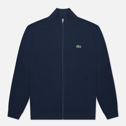 Мужская толстовка Lacoste Sport Cotton Blend Fleece Zip Navy Blue
