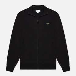 Мужская толстовка Lacoste Sport Cotton Blend Fleece Zip Black/Black