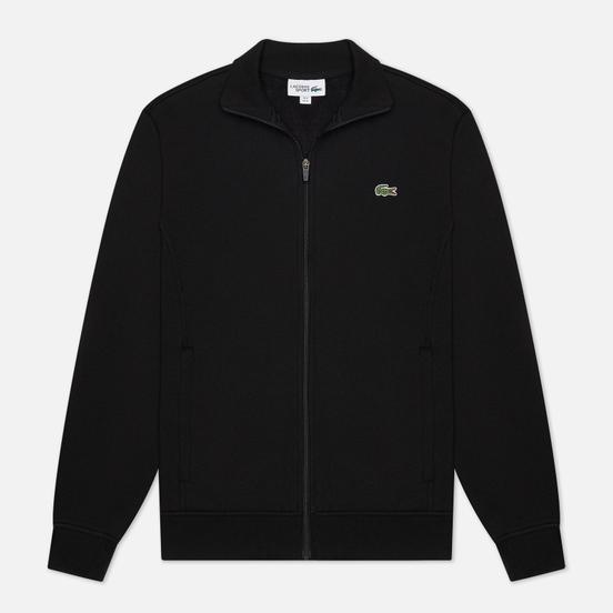 Мужская толстовка Lacoste Sport Cotton Blend Fleece Zip Black/Black