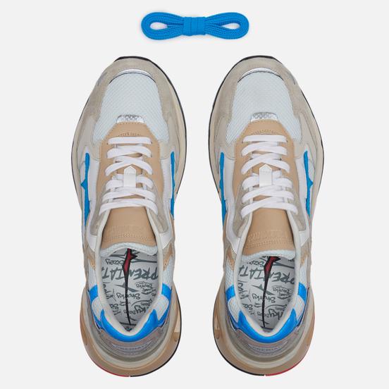 Мужские кроссовки Premiata Sharky 073 Grey/White