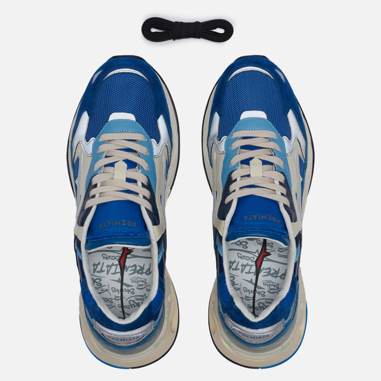 Мужские кроссовки Premiata Sharky 077 Blue