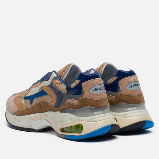 Мужские кроссовки Premiata Sharky 079 Brown