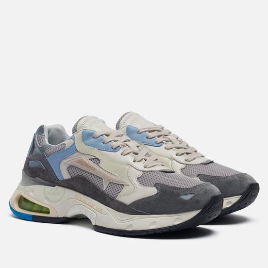 Мужские кроссовки Premiata Sharky 080 Grey