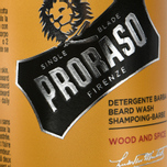 Шампунь для бороды Proraso Wood & Spice 200ml фото- 3