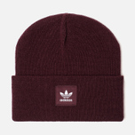 Шапка adidas Originals Adicolor Cuff Knit Maroon фото- 0