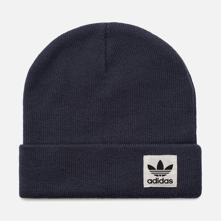 Шапка adidas Originals High Beanie Blue