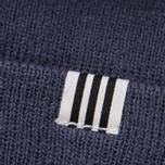 Шапка adidas Originals High Beanie Blue фото- 2